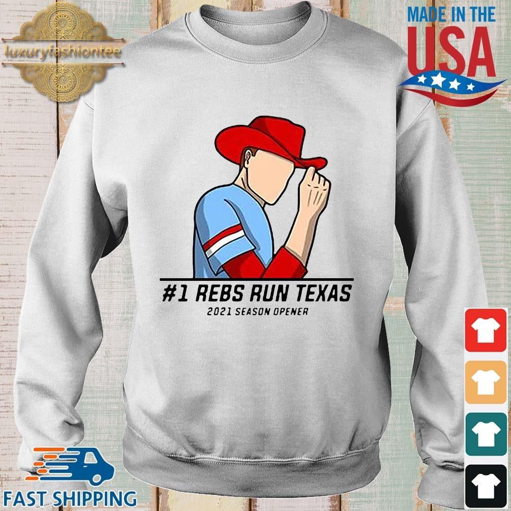 #1 rebs run Texas 2021 season opener s Sweater trang