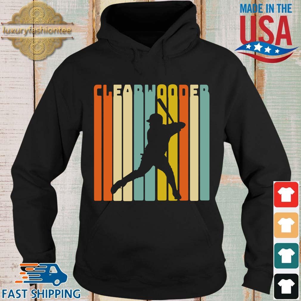Clearwater baseball vintage s Hoodie
