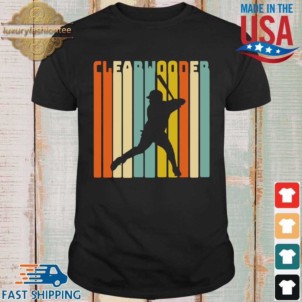 Clearwater baseball vintage shirt