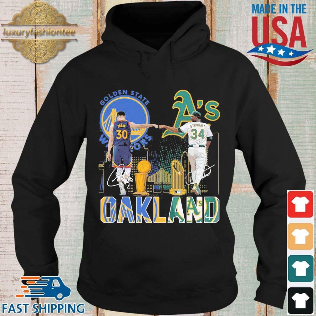 Golden State Warriors Stephen Curry Oakland Athletics Stewart Oakland s Hoodie