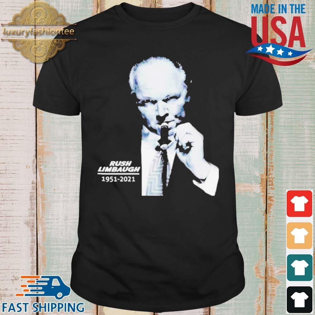 Legend Rush Limbaugh 1951 2021 shirt