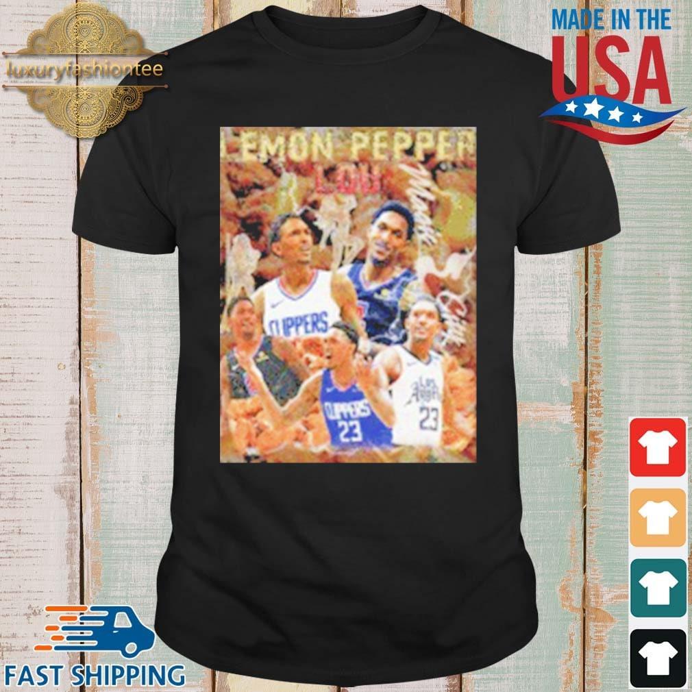 Lemon Pepper Lou Los Angeles Basketball Shirt