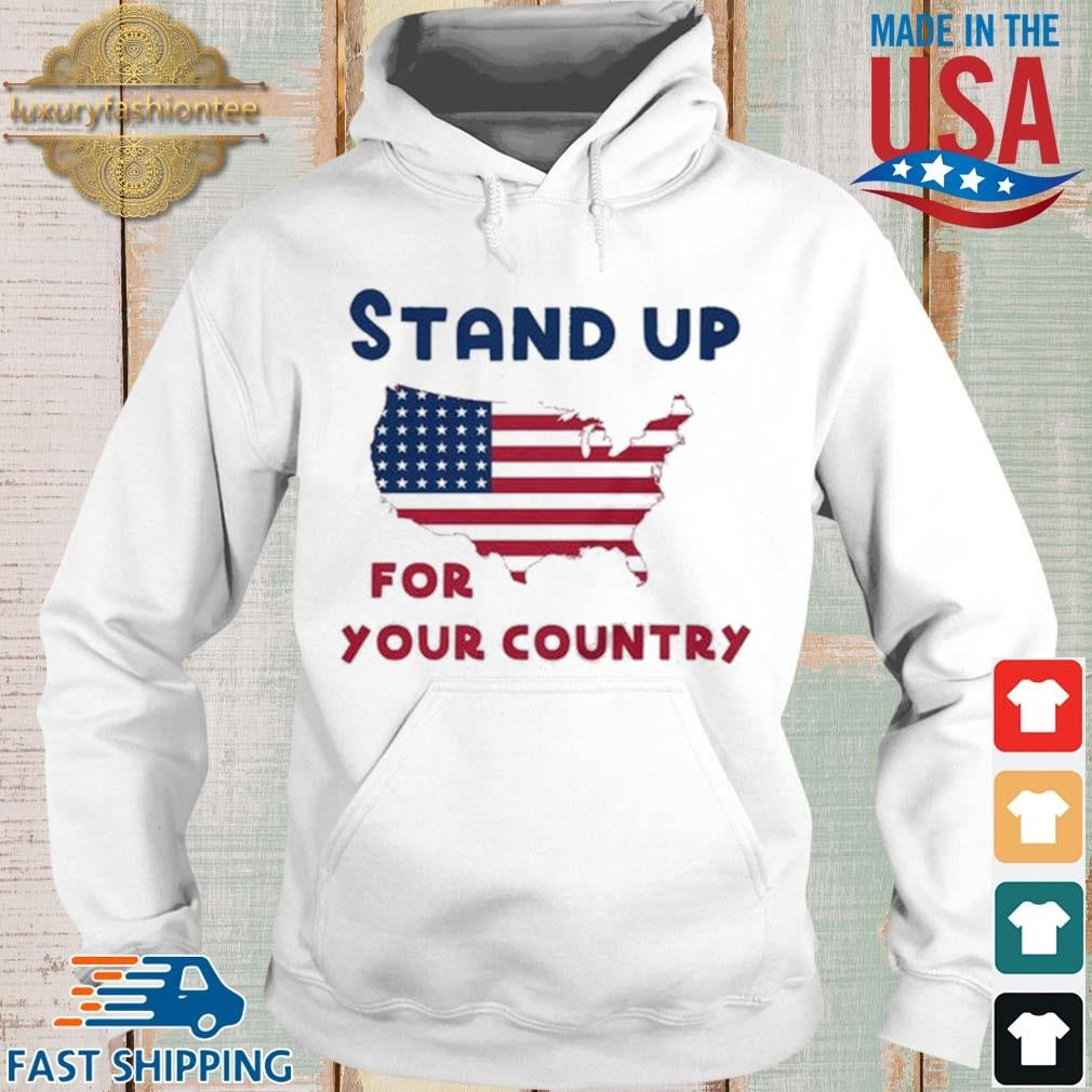 Stand up for your country American Flag s Hoodie trang