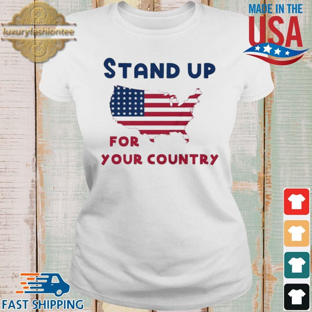 Stand up for your country American Flag s Ladies trang