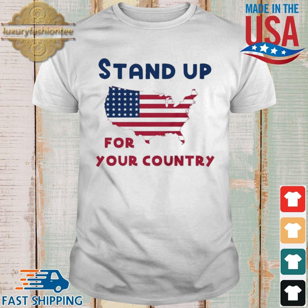 Stand up for your country American Flag shirt