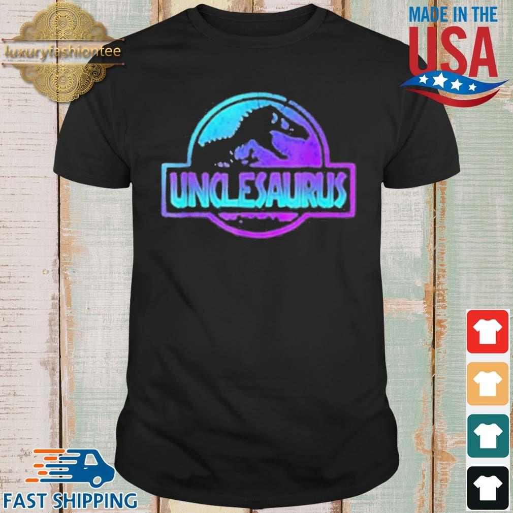 Uncle Dinosaur Dad Dinosaur Gift Shirt