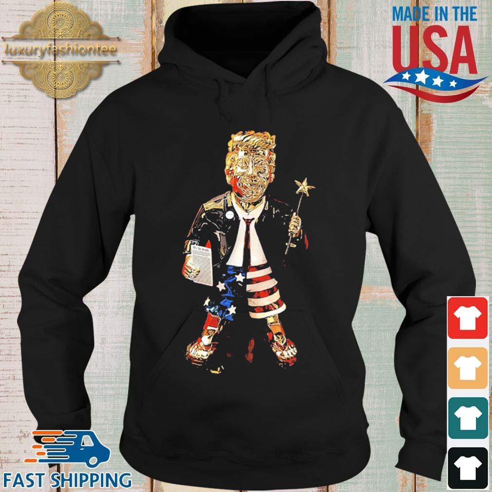 Golden Trump Statue Shirt Hoodie