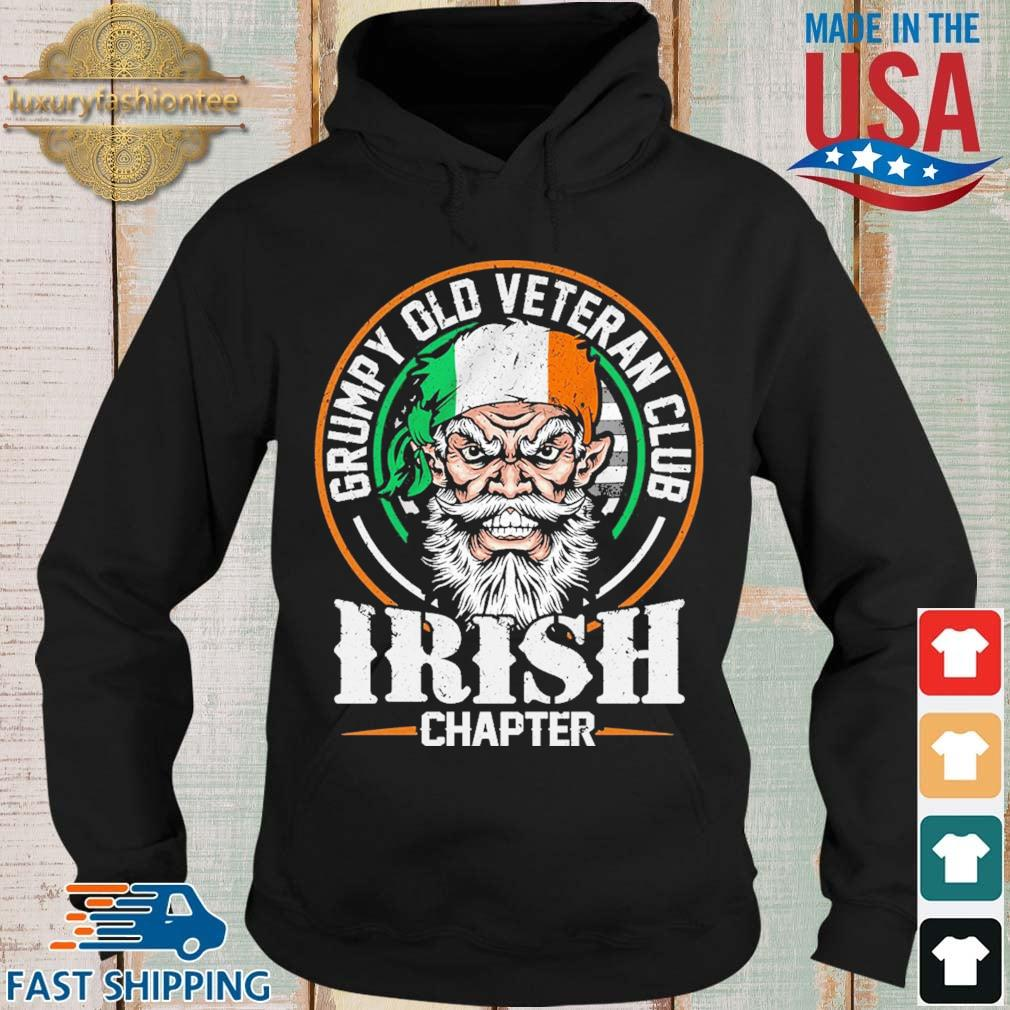 Grumpy old veteran club Irish chapter Ireland Hoodie