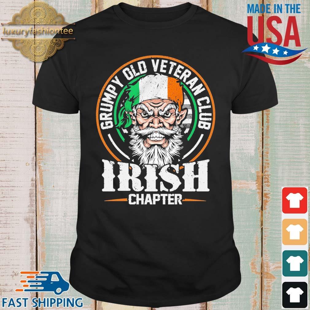 Grumpy old veteran club Irish chapter Ireland shirt