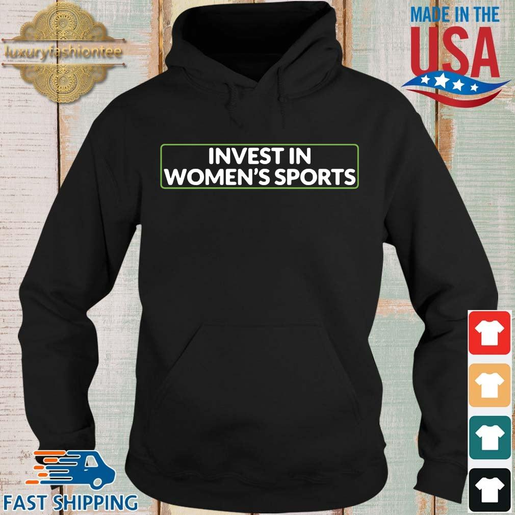 Invest in women's sports Hoodie