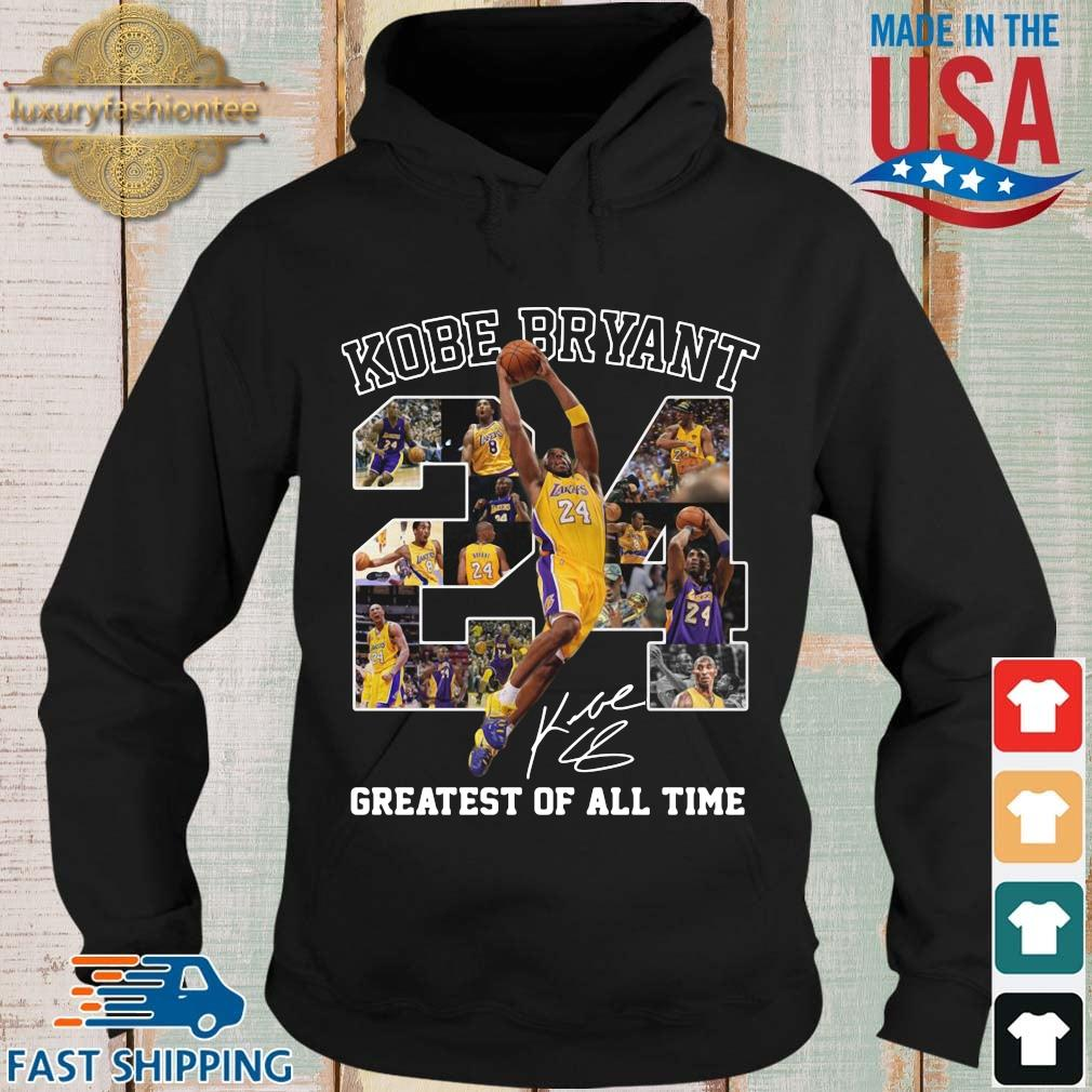 Kobe Bryant 24 signature greatest of all time Hoodie