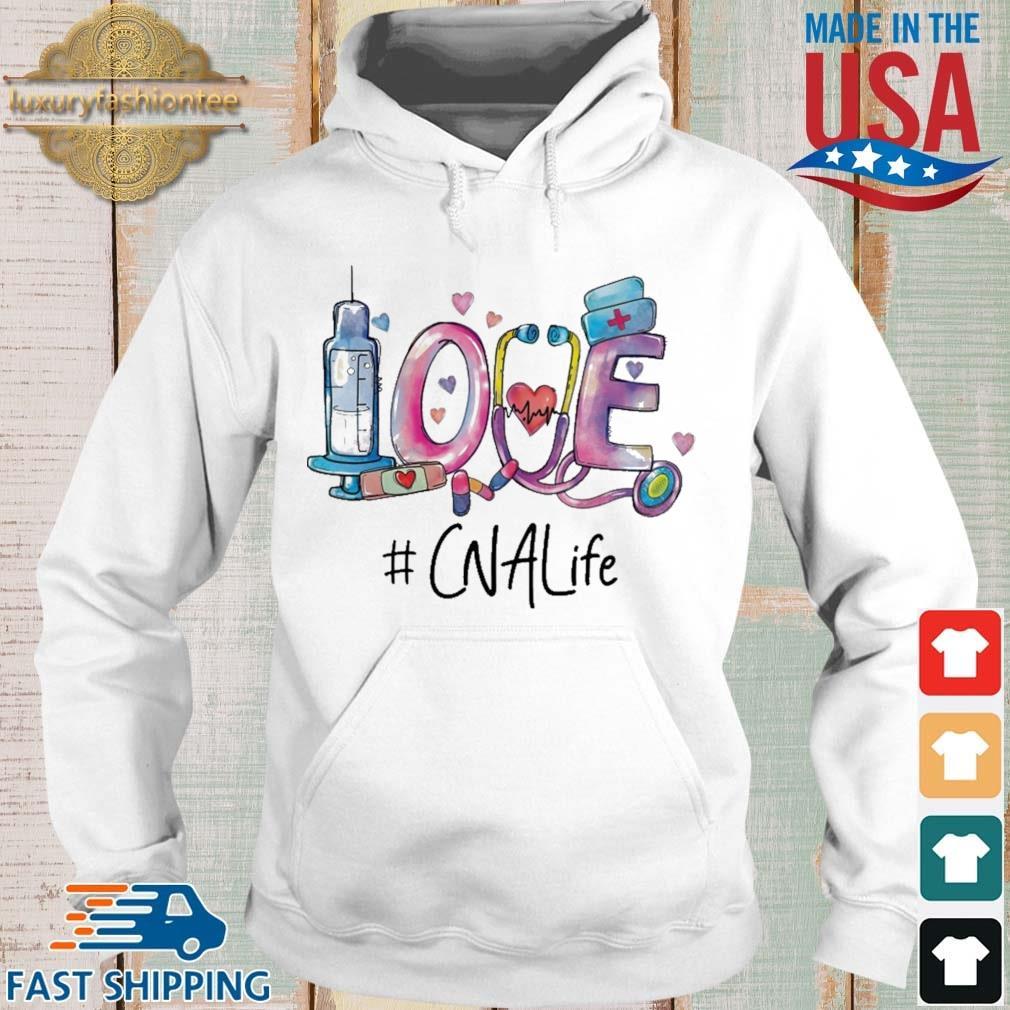 Love #CnaLife Hoodie trang