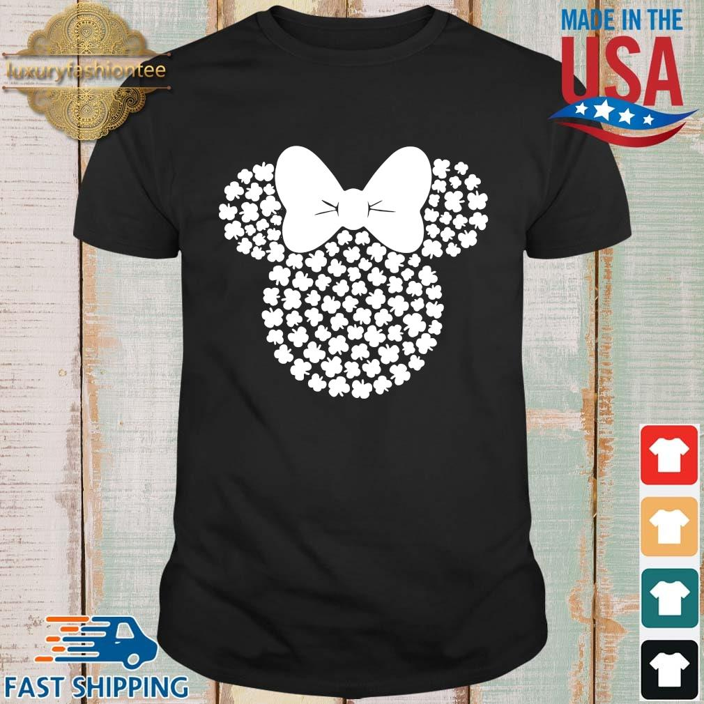 Minnie Mouse shamrock St Patricks Day shirt