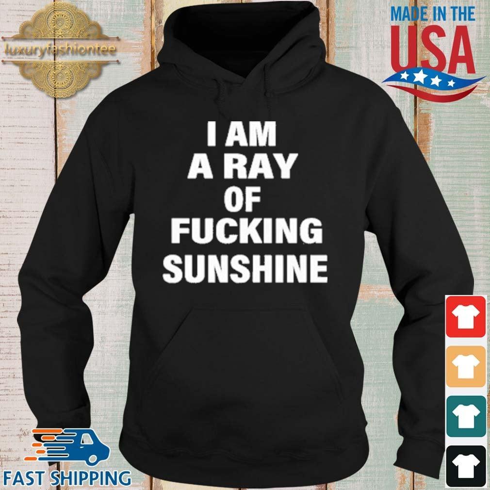 I Am A Ray Of Fucking Sunshine Shirt Hoodie