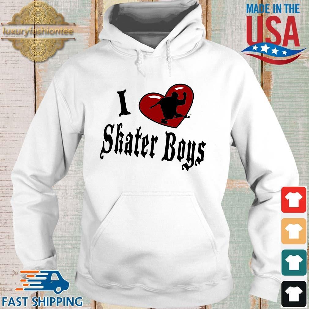 I love skater boys s Hoodie trang