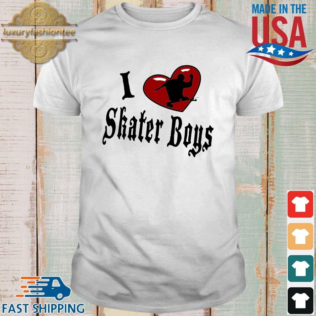 I love skater boys shirt