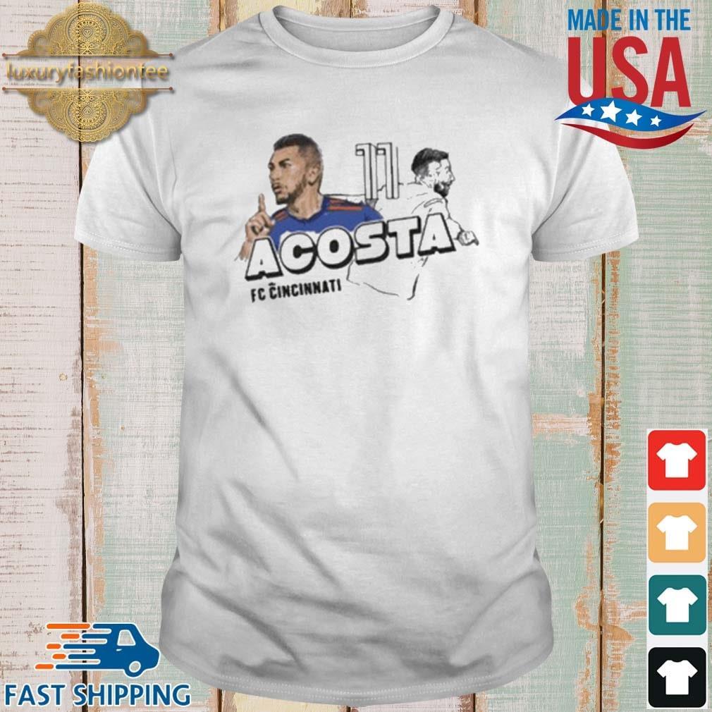 Lucho Acosta Mlspa Spotlight Fc Cincinnati Shirt