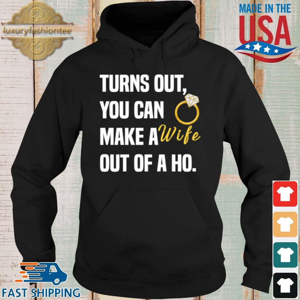 Ring diamond turns out you can make a wife out of a ho s Hoodie