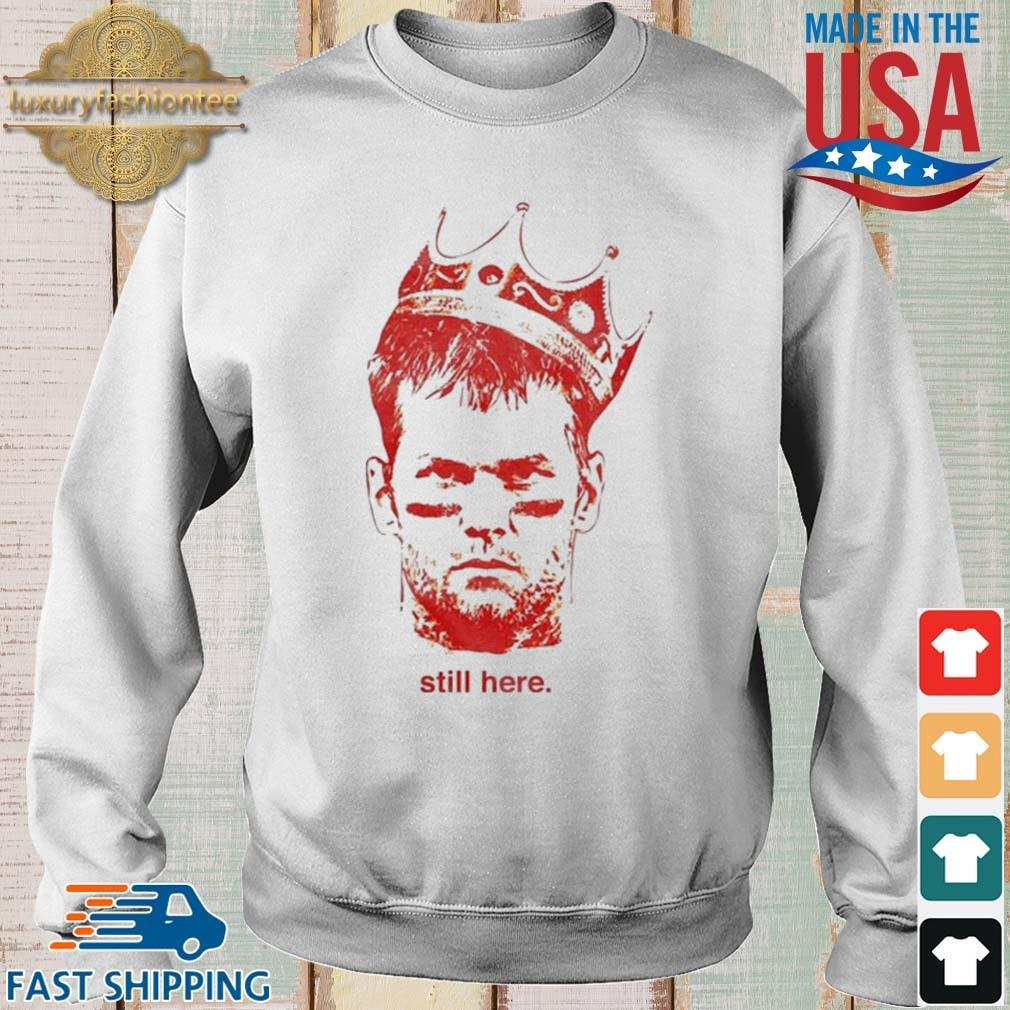 Till Here King TB Shirt Sweater trang
