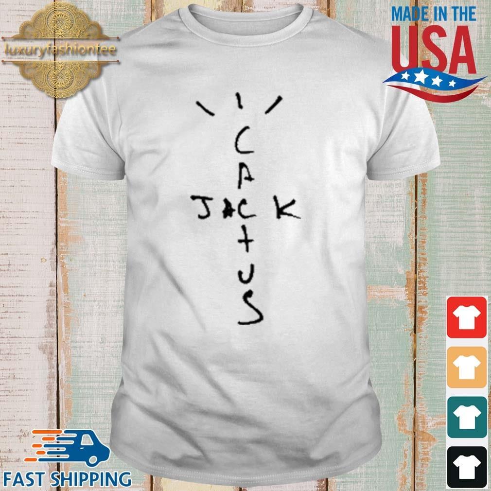 Travis Scott Cactus Jack Black Shirt
