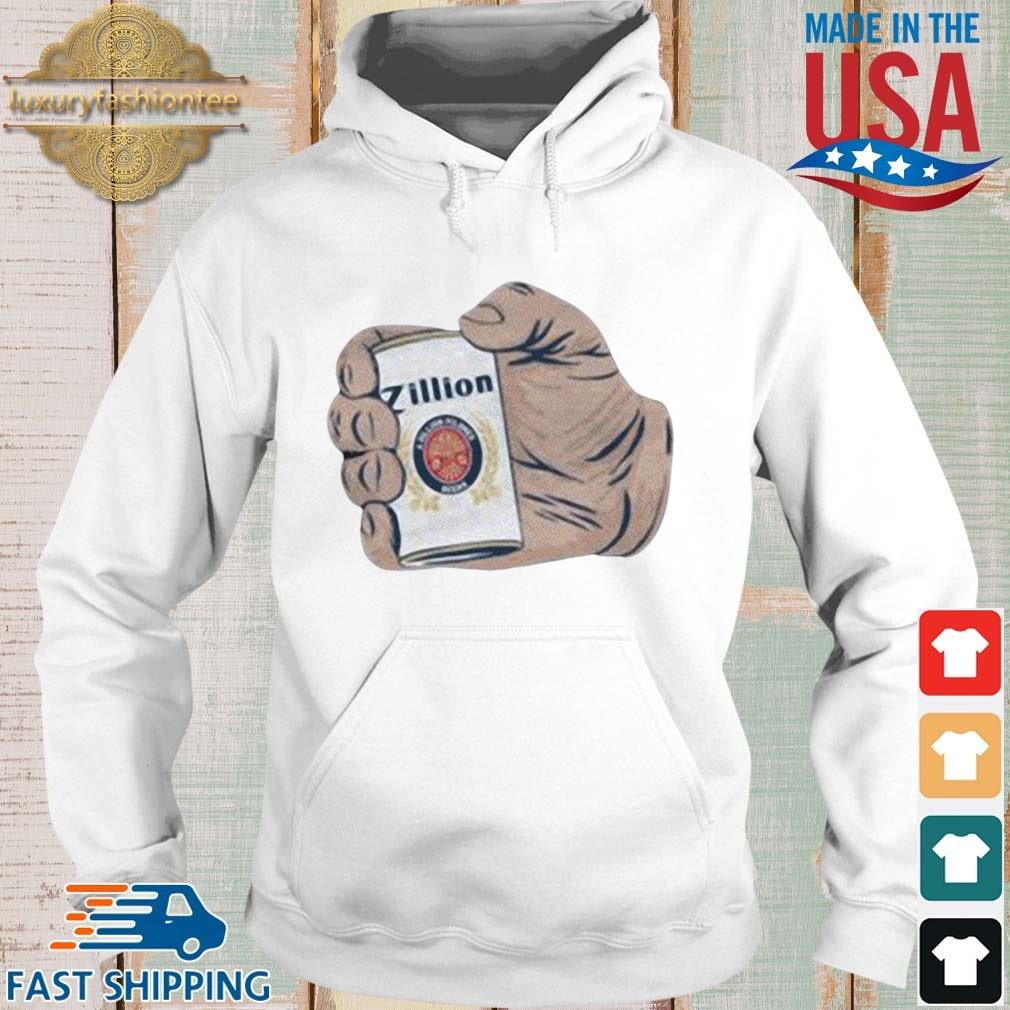 Zillion Beers The Giant Shirt Hoodie trang