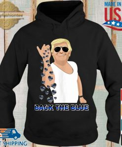 Donald Trump salt back the blue heart American flag shirts Hoodie den
