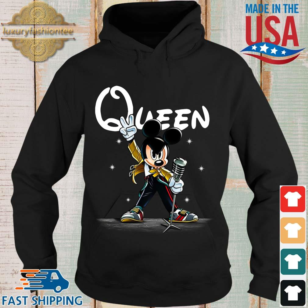 Freddie Mercury queen Mickey mouse s Hoodie den