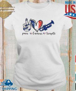 Paix l'amour trompette s Ladies trang
