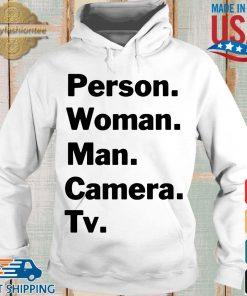 Person Woman Man Camera TV Shirt Hoodie trang
