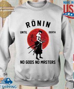 Roronoa Zoro ronin until death no gods no masters s Sweater trang