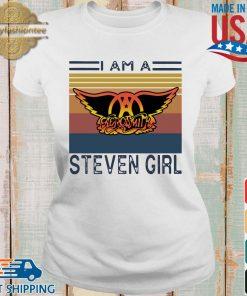 Saerosmith I am a Steven girl vintage s Ladies trang