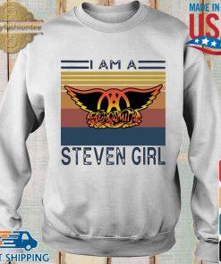 Saerosmith I am a Steven girl vintage s Sweater trang