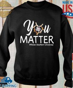 You heart Stu matter #texas southern university s Sweater den