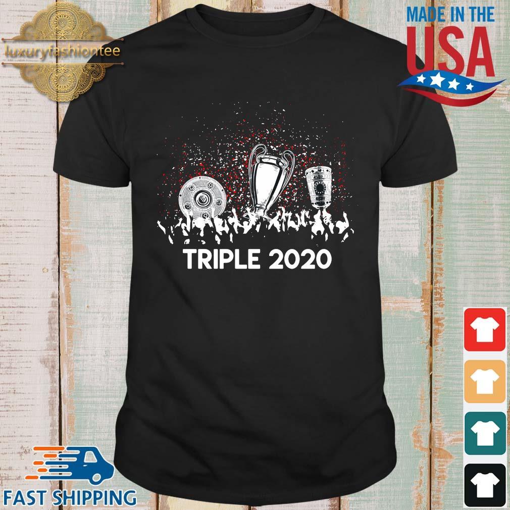 Bayern Munich triple 2020 shirt