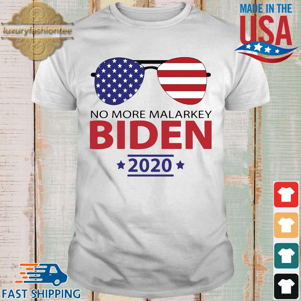 Joe Biden America no malarkey 2020 shirt