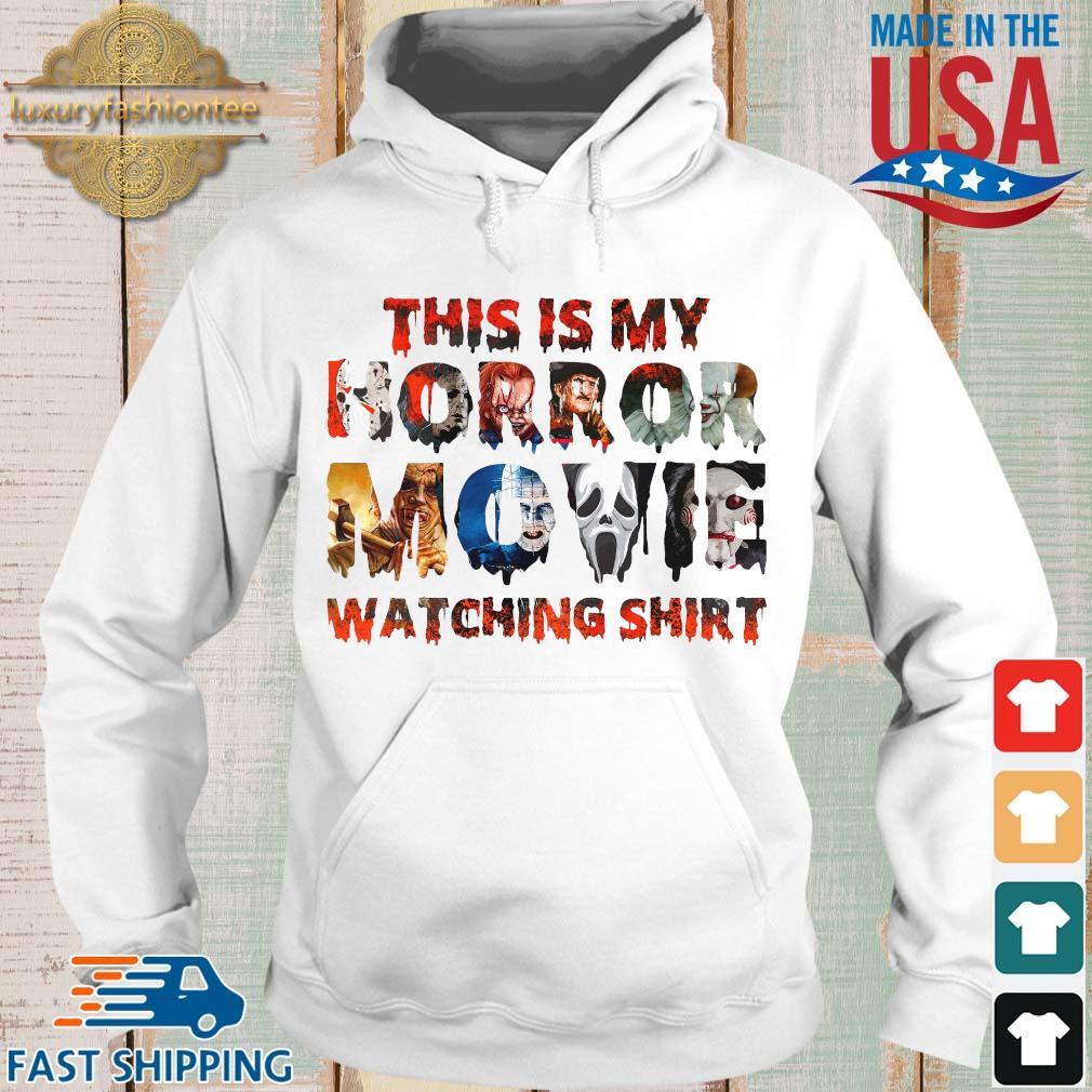 This is my horror movie watching Halloween s Hoodie trang