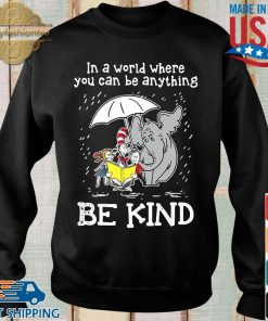 Horton Hears a Who Dr Seuss in a world where you can be anything be kind s Sweater den