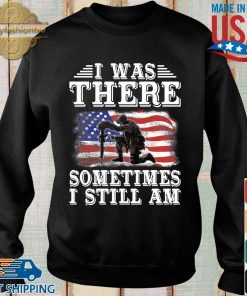 I was there something I still am American flag s Sweater den