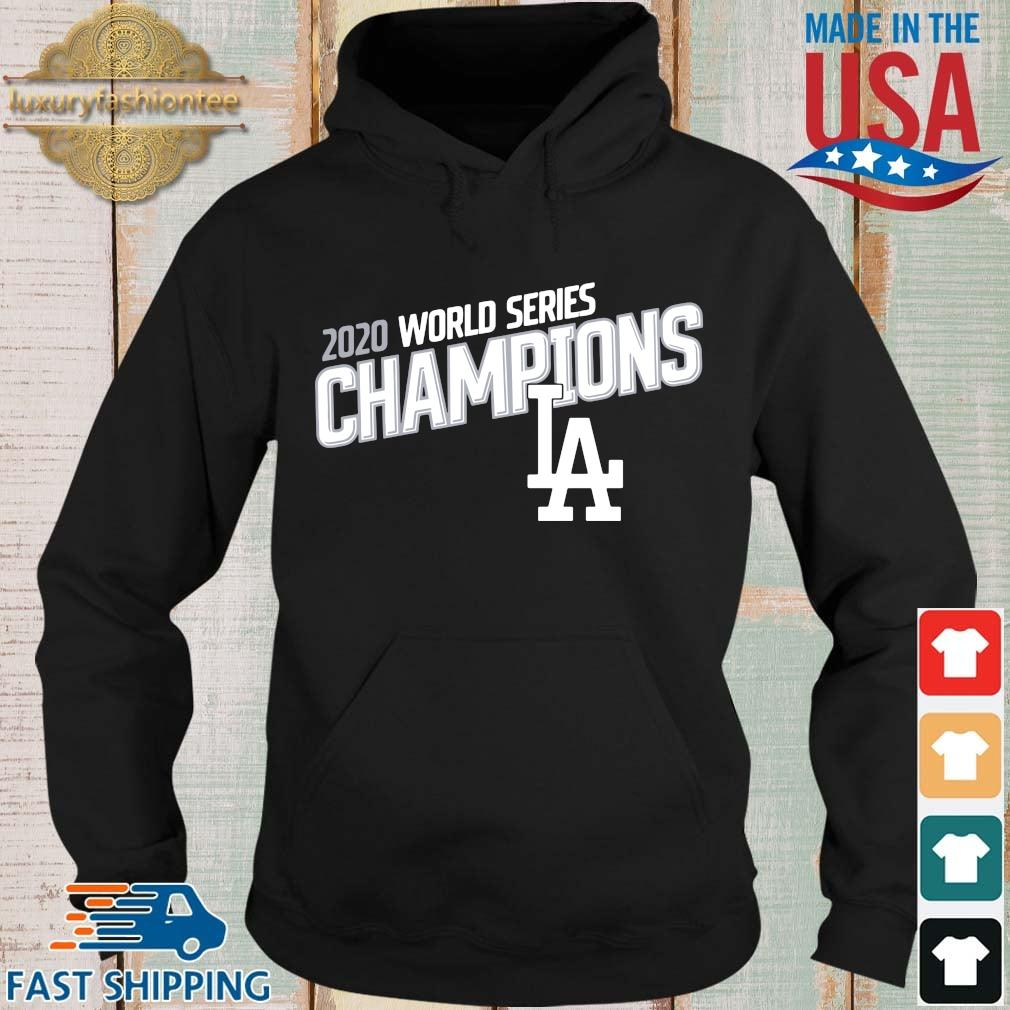 Los Angeles Dodgers 2020 world series Champions Baseball s Hoodie