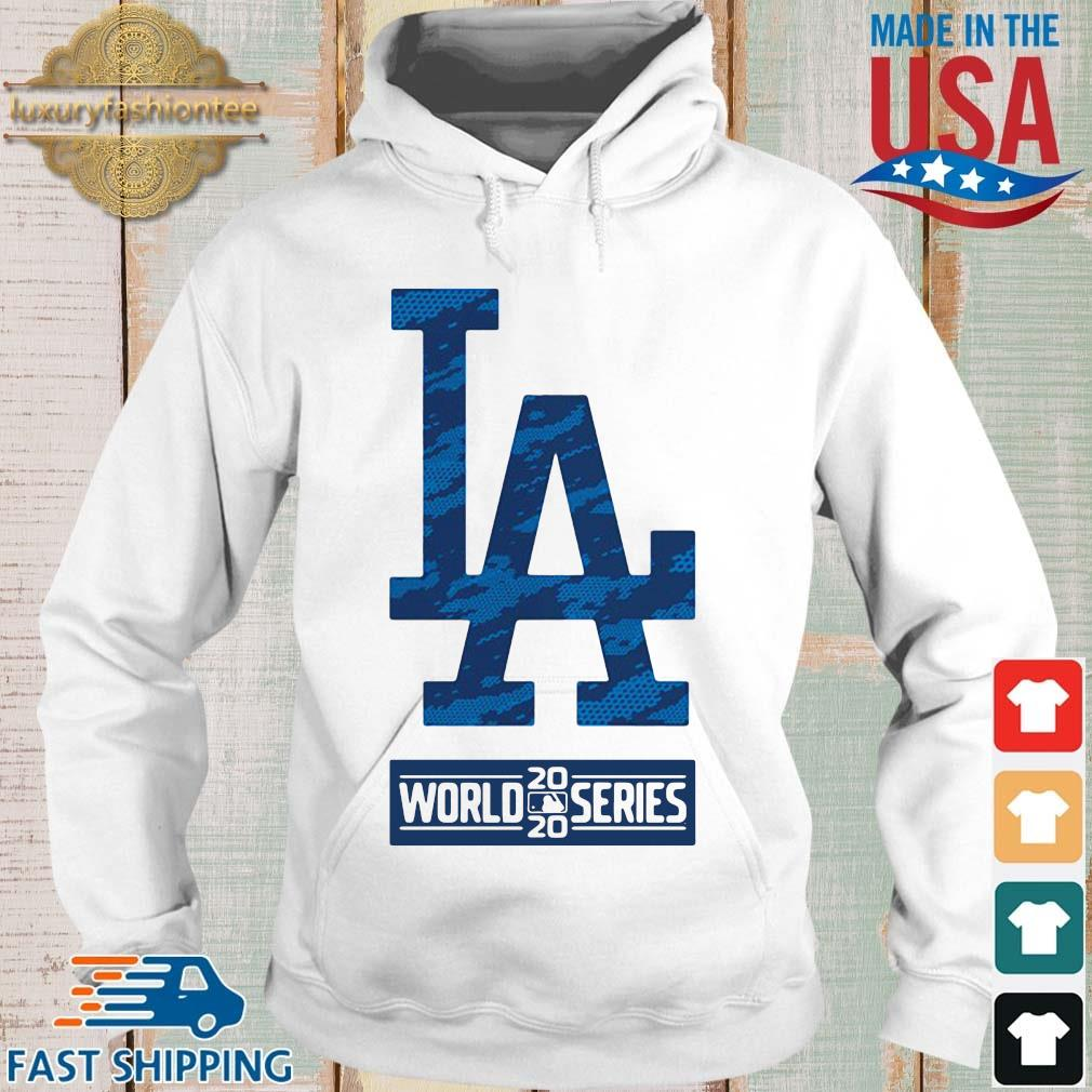 Los Angeles Dodgers 2020 world series s Hoodie trang