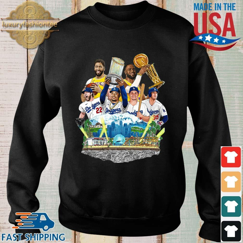 Los Angeles Dodgers And Los Angeles Lakers Champions 2020 shirt