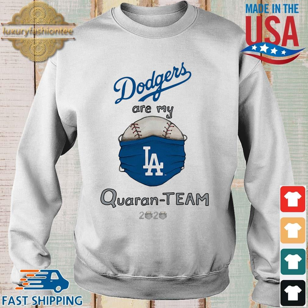 Los Angeles Dodgers Tiny Turnip White QuaranTeam Shirt