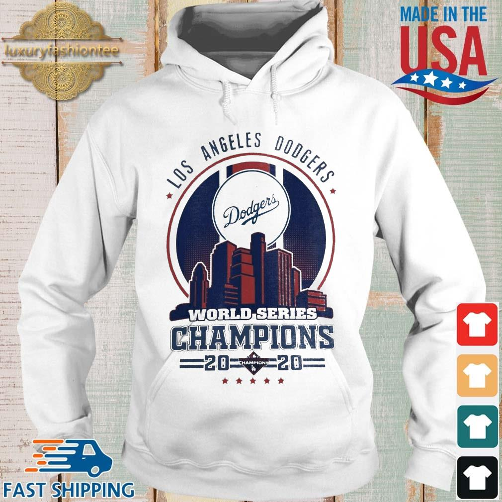 Los Angeles Dodgers world series Champions 2020 tee s Hoodie trang