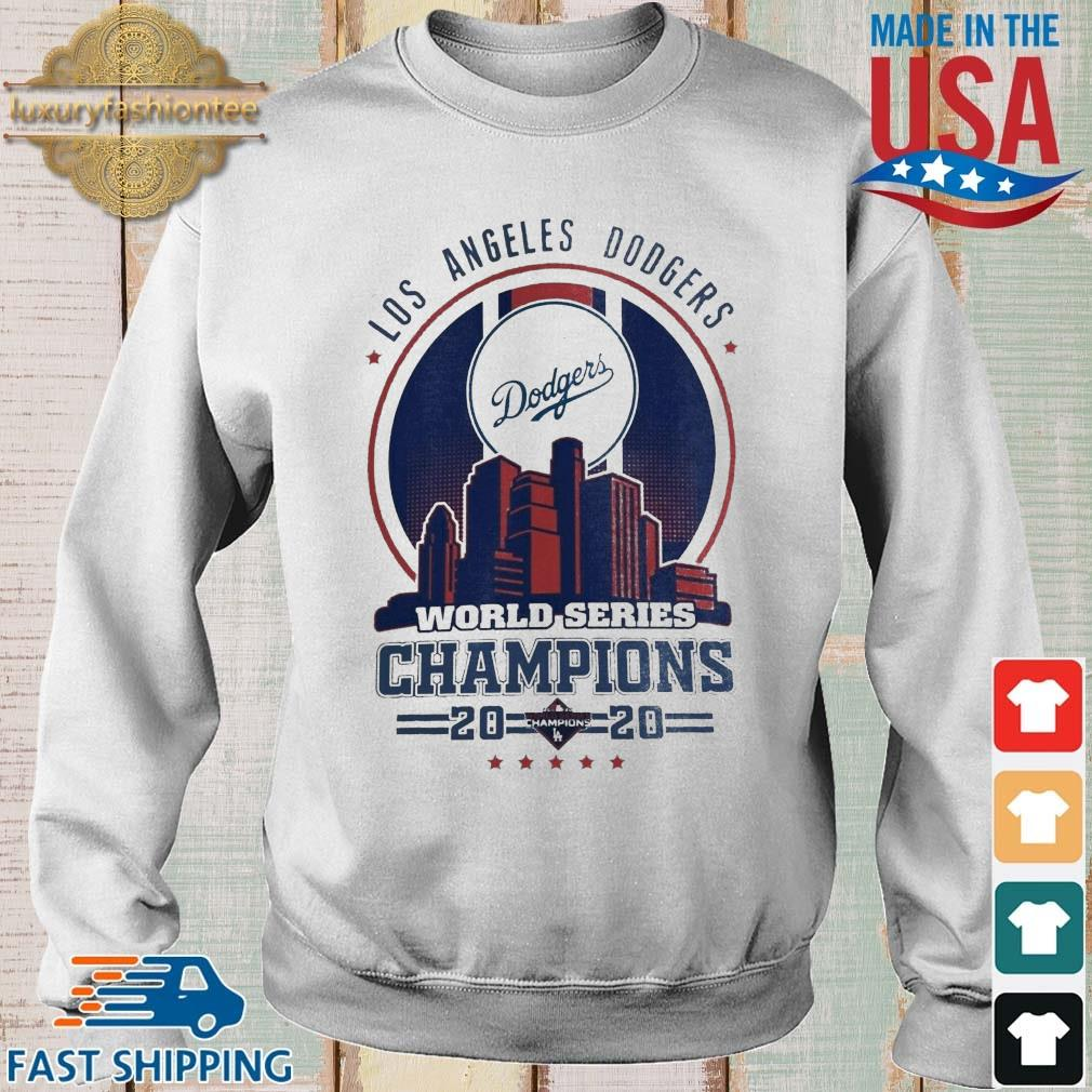 Los Angeles Dodgers world series Champions 2020 tee shirt
