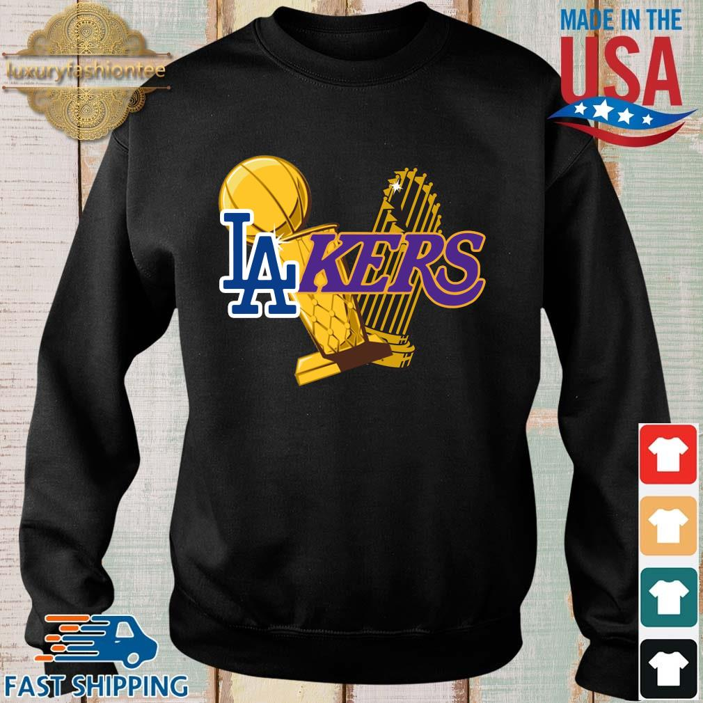 Los Angeles Lakers And Los Angeles Dodgers Champions 2020 Shirt
