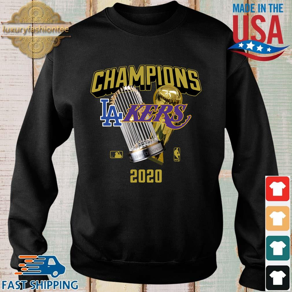 Official Champions Los Angeles Lakers And Los Angeles Dodgers 2020 Shirt