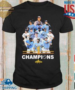 Tampa Bay Rays 1 Champions 2019-2020 shirt
