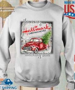 This is my Hallmark Christmas movie watching s Sweater trang