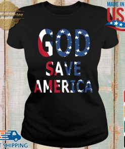 USA flag God save America s Ladies den