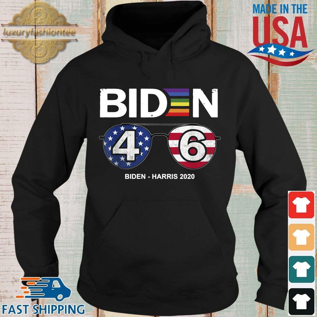 LGBT Joe Biden 46 Biden harris 2020 s Hoodie
